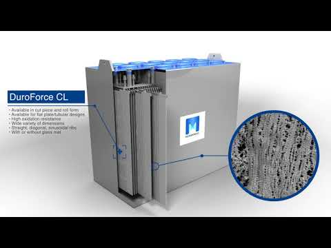 Duroforce CL Battery Separator 3D Animation