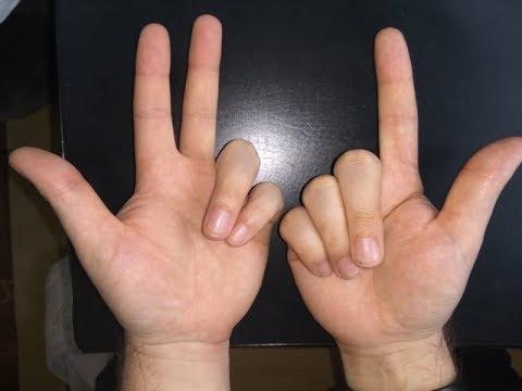 считаем на пальцах - умножение