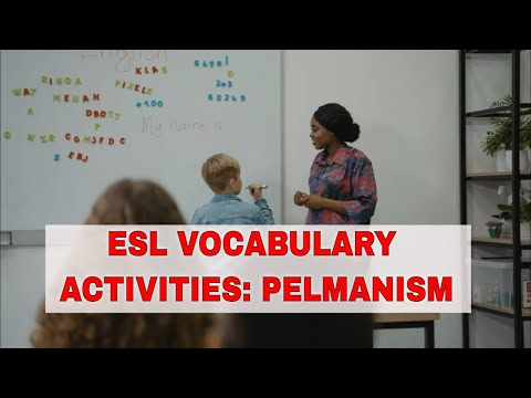 Fun Activities to Teach English Vocabulary: Pelmanism