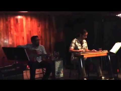 Me (on Pedal Steel Guitar) and a friend (On Guitar) performing at a restaurant.