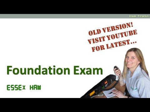 Amateur Radio Foundation Exam