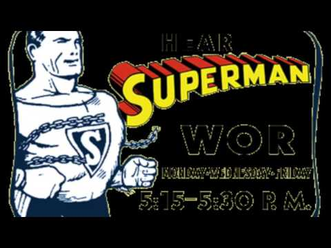 Superman Radio Advice from 1948