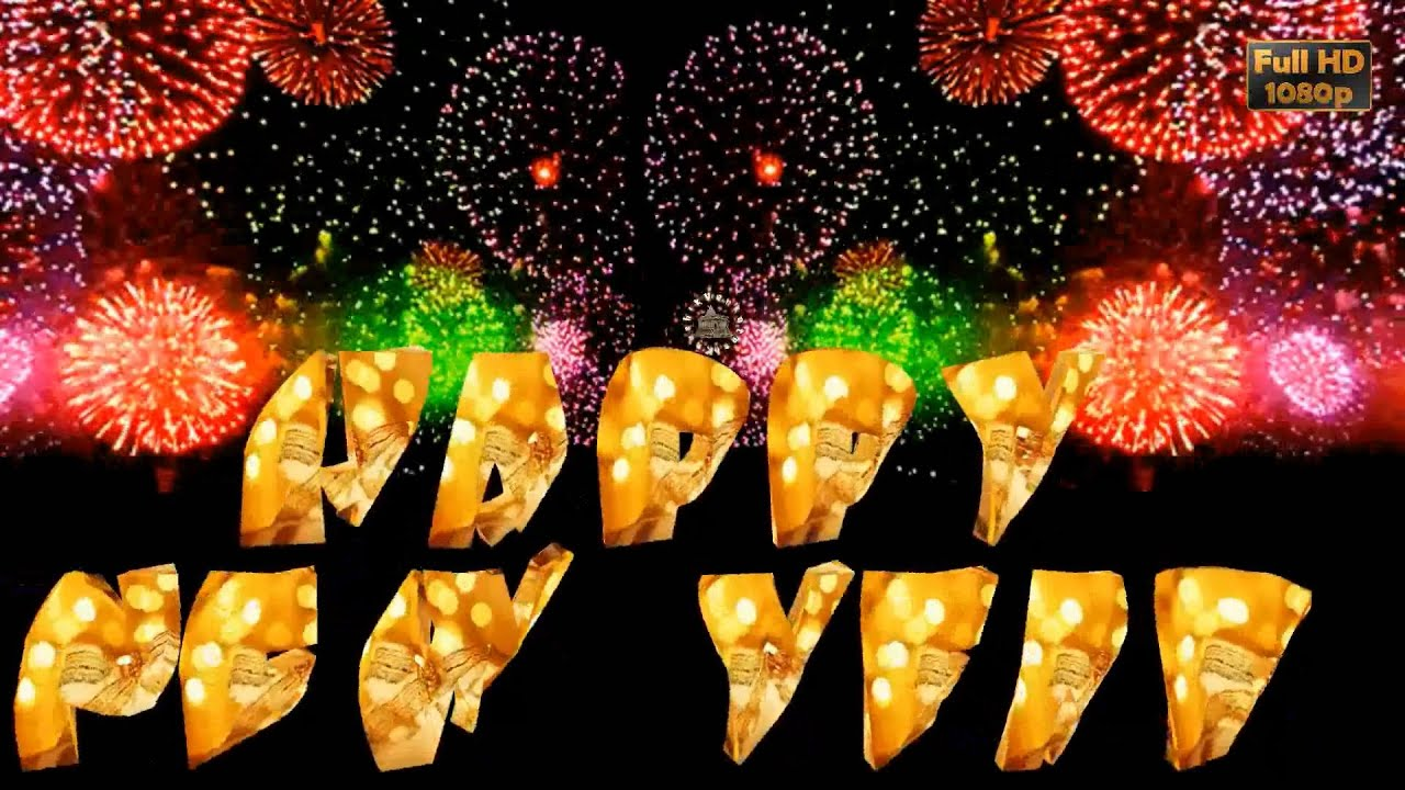 Happy New Year 2019 Wisheswhatsapp Videonew Year Greetings