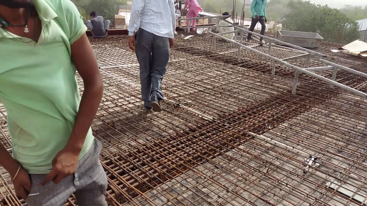 Slab Reinforcement And Crank Bar Youtube