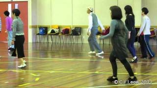 Cherry Blossom Cha Cha Line Dance (Val Reeves) @ Scalewings NZ 2011