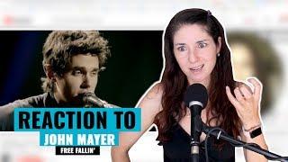 Vocal Coach Reacts to John Mayer - Free Fallin'