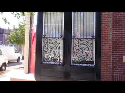 Iron Door Guards   Baltimore, MD - Welding Engineering & Assembly Co (WEACO)