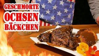 Ochsenbäckchen - perfekt geschmort aus dem Dutch Oven - BBQ Grill Rezept Video - Die Grillshow 266