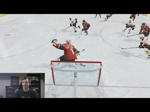 NHL 17: PLAYING GOALIE FOR THE FIRST TIME!