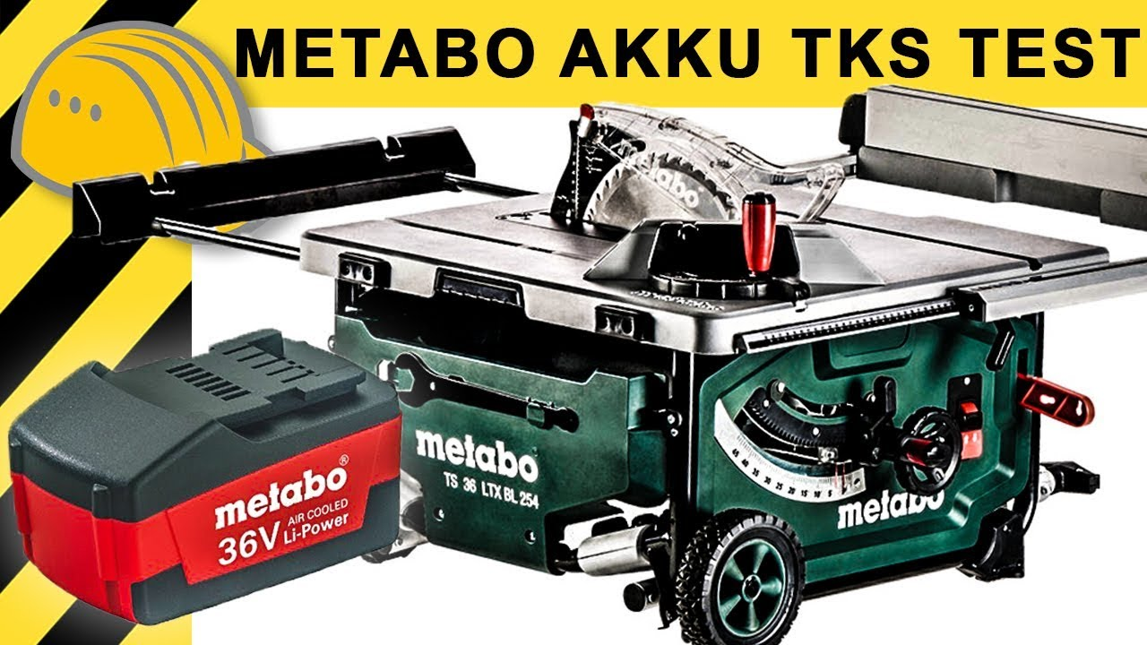 test metabo 36v 2400w akku tischkreiss ge ts 36 ltx bl 254 die 220v alternative youtube. Black Bedroom Furniture Sets. Home Design Ideas