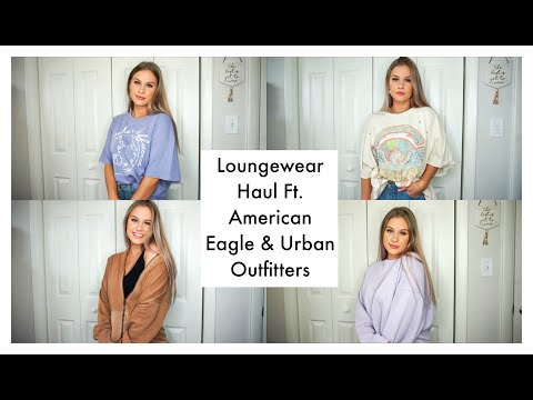 Loungewear Try-On Clothing Haul ☆ Ft. American Eagle & Urban Outfitters