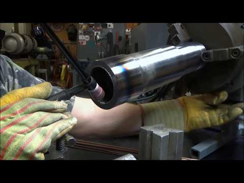 Repeat TIG Welding Repair and Spindle Modification by