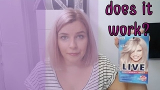 HOW I DYED MY HAIR LILAC || Schwarzkopf