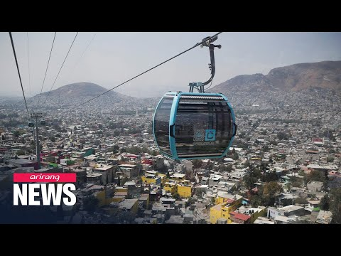 Mexico City to open cable bus line to serve residents in poor neighborhoods