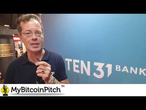 MyBitcoinPitch by Matthias von Hauff (TEN31 Bank)