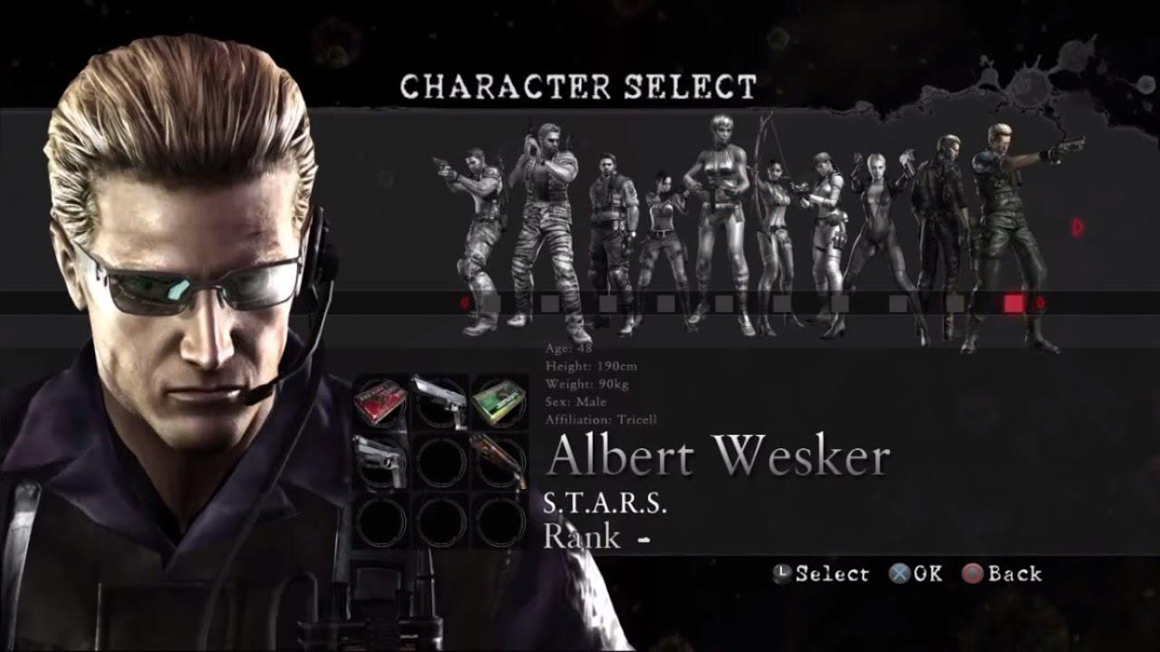 Wesker S T A R S Noobing No Mercy Resident Evil 5 Mercenaries