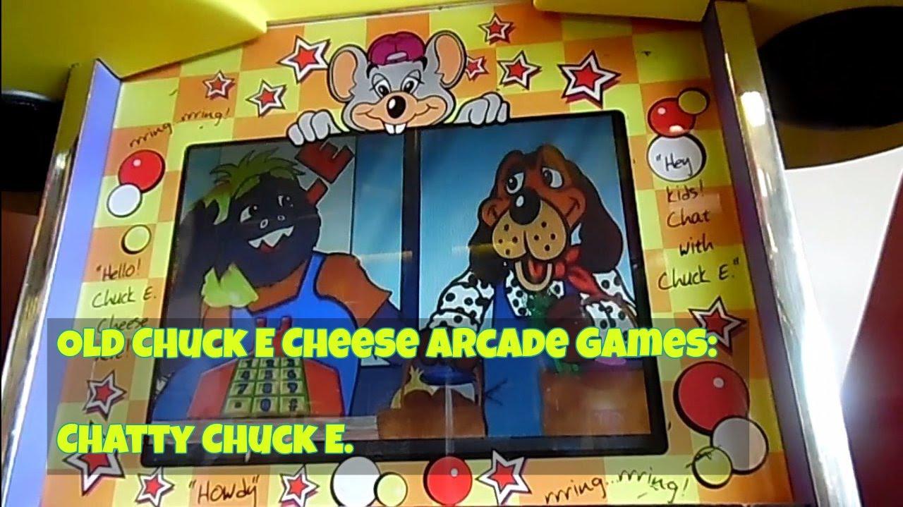 Chuck E Cheeses Old Arcade Games Chatty Chuck E East Hanover Nj