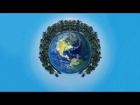 #77 Polar Coordinates In adobe Photoshop (360 Degree Planets)