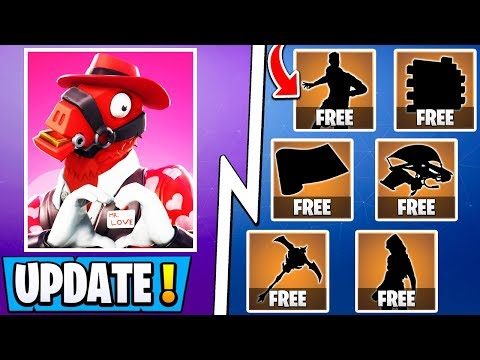 *NEW* Fortnite Update! | Share the Love Event, 12 Free Items, 2X Exp!