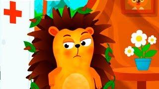 ДОКТОР ИГРА #6 лечу животных как Доктор Плюшева  Мультик игра для детей про друзей лисенка и зайчика