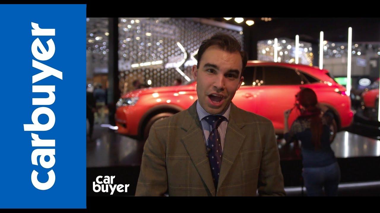 2017 DS 7 Crossback walkaround –Geneva Motor Show 2017 - Dauer: 103 Sekunden
