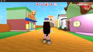 Playing Roblox in meepcity the challenge of the 9 babies