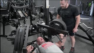 Marc and Aaron Lobliner Train Chest and Shoulders - Brotherly Pecs!