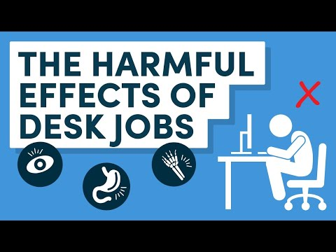 Sitting at Work: How to Overcome the Harmful Effects of a Desk Job