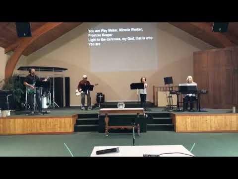 Sunday August 30 Service