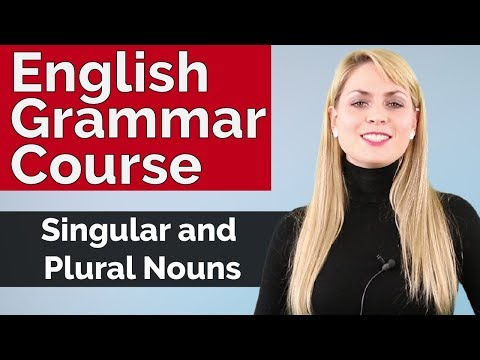 English Grammar Course | Singular And Plural Nouns #2