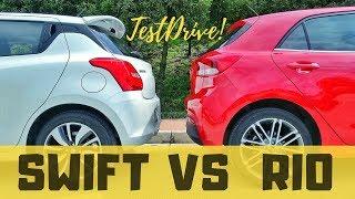 Suzuki Swift & Kia Rio - Comparativa | ADN Automotriz