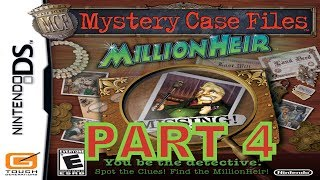 Mystery Case Files: MillionHeir (NDS) Walkthrough Part 4 With Commentary