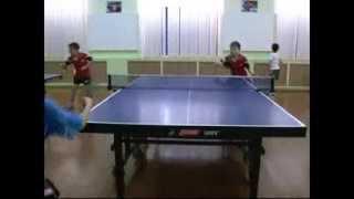 В Уральске прошел турнир по настольному теннису среди самых маленьких