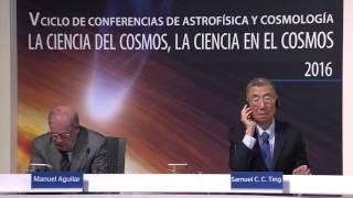 Conferencia del Prof. Samuel Ting, Premio Nobel de Física