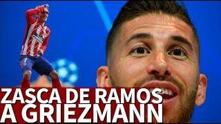 El zasca de Ramos a Griezmann por compararse con Cristiano y Messi |Diario AS