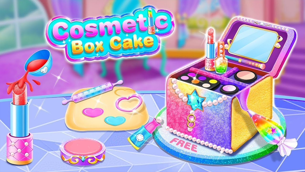 Girl Makeup Kit Comfy Cakes–Pretty Box Bakery Game by FunPop