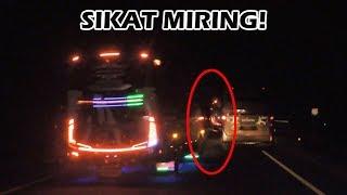 "Goyangan mosak-masik bus pelari pantura, Po. Haryanto HR 20 ""Paradi..."
