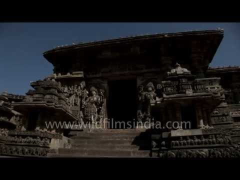 Architecture of Hoysaleswara temple in Halebidu, Karnataka