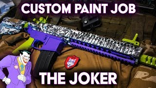 THE JOKER • Custom Airsoft Paint Job
