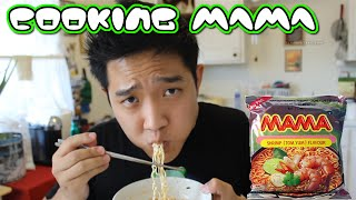 Cooking With Daboki : Mama Tom Yum - Thai Ramen Noodles!
