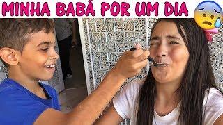 MINHA BABÁ POR UM DIA!!! thumbnail