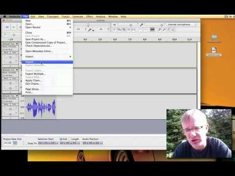 Audacity Tutorial How to Save Audacity Project Fix a File that Will Not Open