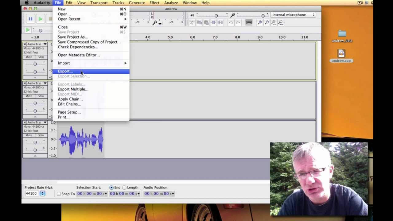 how to fix the levels in audacity