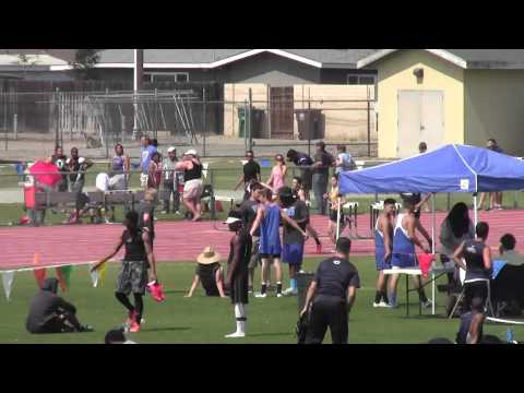 Rafer Johnson:  Boys 800m #2: 3/21/2015