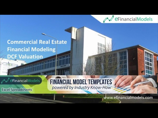 Commercial Real Estate Valuation Model Template In Excel