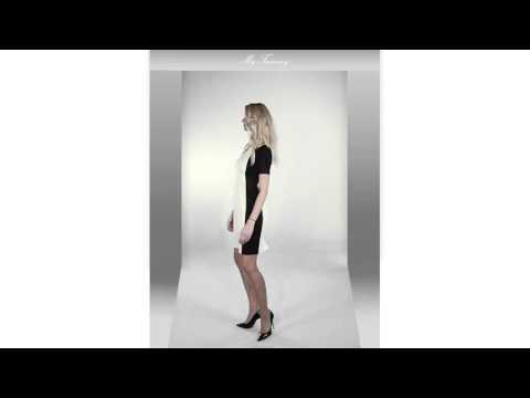 My Tummy Vestito Premaman & Allattamento Adele giallo 2
