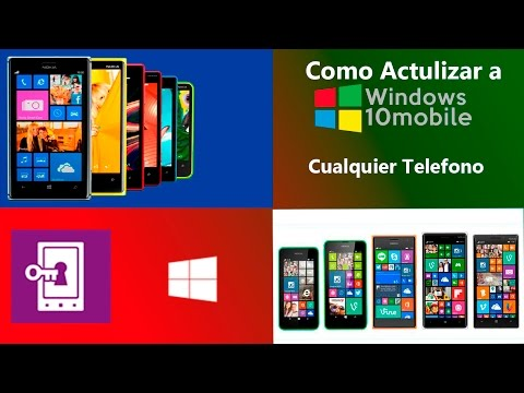 Como Actualizar De Windows Phone 8.1 A Windows 10 Mobile Cualquier Telefono