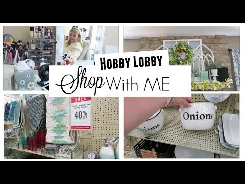 Shop With Me at Hobby Lobby + Spring/Summer Decor || April 2019