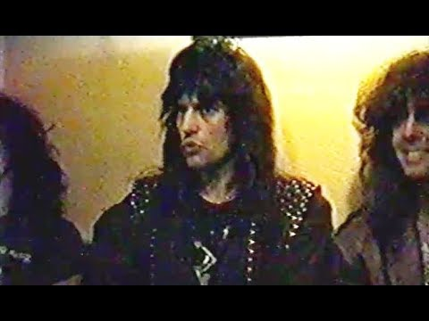 Running Wild - Interview with Majk Moti 1988 (+ members of Celtic Frost & Coroner)