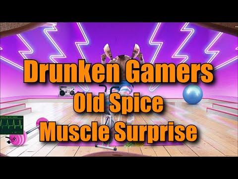 Drunken Gamers - Old Spice Muscle Surprise
